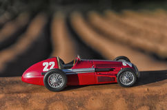Model of a classic racing car Stock Photo