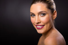 Model with clear skin Royalty Free Stock Photos