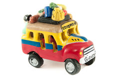 Model of a Colombian Bus or Chiva Royalty Free Stock Photos