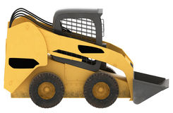Model of construction machine Stock Image