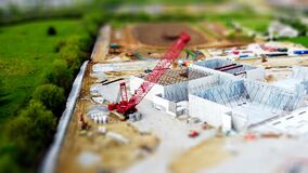 Model of construction site
