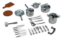 Model of cookware Stock Images