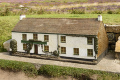 Model of cottage at Land End 02, Cornwall Stock Photos