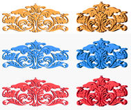This is a model of decorative objects.  Royalty Free Stock Photography