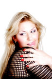 Model desire. Beautiful blond woman. Shot in studio Stock Photo