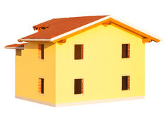 Model of detached house Royalty Free Stock Photo