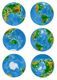 Model of earth Stock Images