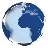 Model of Earth Royalty Free Stock Photo
