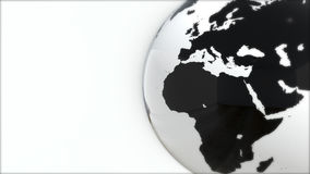 A model of the Earth. 3D Earth Royalty Free Stock Images