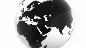 A model of the Earth. 3D Earth Stock Photo