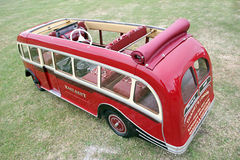 Model east kent coach. Photo of a model east kent coach showing engine detail seating controls etc. photo taken 28th june 2015 and ideal for model buses and stock photos