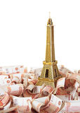 Model Eiffel Tower Royalty Free Stock Photos