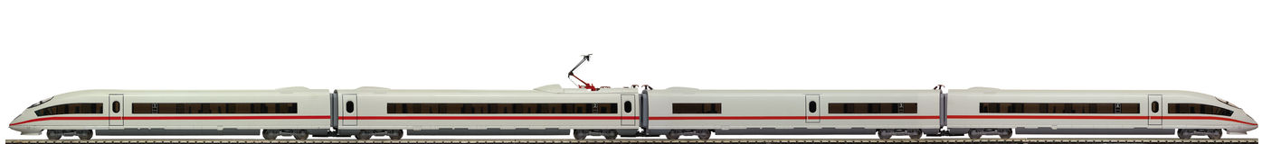 Model of a electric train Stock Photos