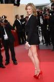 Model Eva Herzigova. CANNES, FRANCE - MAY 18: Eva Herzigova attends the 'La Conquete' premiere during 64th Annual Cannes Film Festival at Palais des Festivals on stock photo