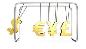 Money's cradle Royalty Free Stock Photos