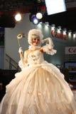 Model on Exhibition Photoforum-expo 2010 in Moscow Stock Photos