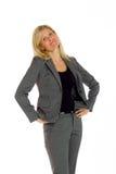Model expressing positivity Stock Photo