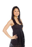 Model expressing positivity Royalty Free Stock Image