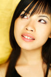 Model expressions. Sexy asian girl model expressions Royalty Free Stock Photography
