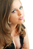 Model face close up Royalty Free Stock Images