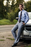 Model of fashion next car Stock Photos