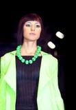 Model fashion show stock image