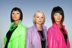 Model fashion show. Stock Photography