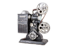 Model of film projector Royalty Free Stock Photos