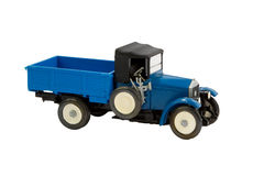 Model of the first Russian truck AMO F-15 Royalty Free Stock Image