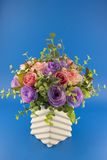 Model_flowers Fotos de Stock Royalty Free