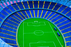 Model football stadium Stock Image