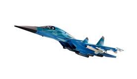 Model geïsoleerde vliegtuig Royalty-vrije Stock Afbeeldingen