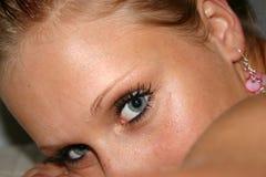 Model gezicht Royalty-vrije Stock Foto