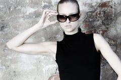 Model in glasses Stock Photos