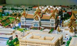 Model of Grand palace in bangkok, THAILAND Royalty Free Stock Image