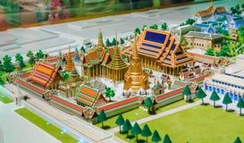 Model of Grand palace in bangkok, THAILAND Stock Photo