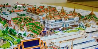 Model of Grand palace in bangkok, THAILAND Stock Photography