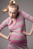 model gravid Royaltyfria Foton