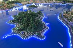Model of gulangyu island Royalty Free Stock Photography