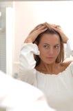 Model Hair Stock Image