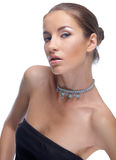 model halsband Royaltyfri Bild