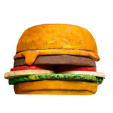 Model of hamburger Royalty Free Stock Photos