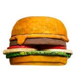 Model of hamburger Royalty Free Stock Photos
