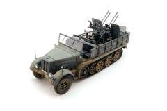 Model helft-spoor tractor royalty-vrije stock foto's