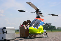 Model helicopter Stock Photo