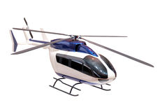 Model of a helicopter Royalty Free Stock Images