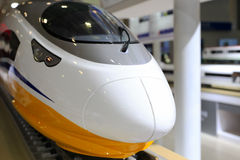 Model of high speed train Stock Photography
