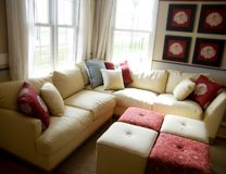Model Home Interior Design Royalty Free Stock Image