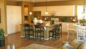 Model Home Interiors royalty free stock photos