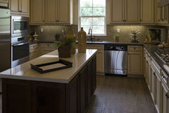 Model home kitchen appliances and cabinets, California Stock Photography